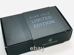 0.6221.15 Rare Victorinox Swiss Army Knife Cadet Blue Alox Limited Edition 2015