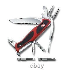 0.9728. Wc Swiss Army Folding Knife Victorinox Rangergrip 174 Handyman + Pouch