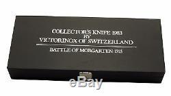 1.1983.1 VICTORINOX SWISS ARMY POCKET KNIFE MORGARTEN 1315 Collectors Edition