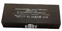 1.1987.1 VICTORINOX SWISS ARMY POCKET KNIFE YEAR 1987 Battle of St. Jakob