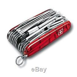 1.6795. Xlt Victorinox Swiss Army Pocket Knife Red Swisschamp 16795xlt New In Box