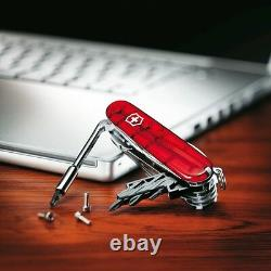 1.7725. T Victorinox Swiss Army Knife Cybertool 34 Ruby Red 53919 Cyber Tool