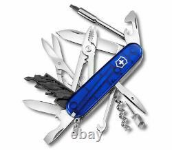 1.7725. T2 Victorinox Swiss Army Knife Cybertool 34 Ruby Blue 17725t2
