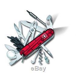 1.7925. T Victorinox Swiss Army Pocket Knife Led Cybertool Lite 53969 Brand New