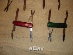 113 VICTORINOX swiss army knife LOT