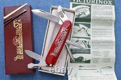 1884-1984 84mm NIB 100th Anniversary Victorinox Tinker Small Swiss Army Knife