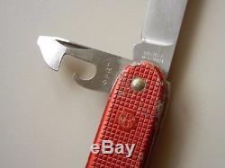 1964 Wenger Delemont 1961 model soldier alox Swiss Army Knife +PAT pioneer