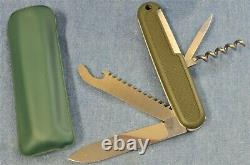 1979-80 VTG 108mm Victorinox OLIVE GREEN SAFARI TROPPER Swiss Army Knife NEW NOS