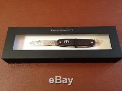 2010 Alox Damascus Steel Swiss Army Knife Limited Ediition Victorinox