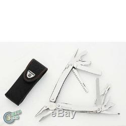 3.0227. N 35261 VICTORINOX Swiss Army Knife Swisstool Spirit XC + Nylon Pouch