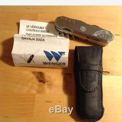 450b Used Knife Unused TAG Heuer × Wenger Collaboration Swiss Army Knife From Jp