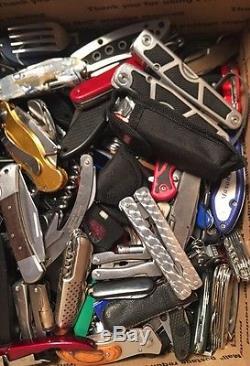 AIRPORT POCKET KNIFE MULTI TOOL LOT 150+pc SWISS ARMY STYLE TSA #5