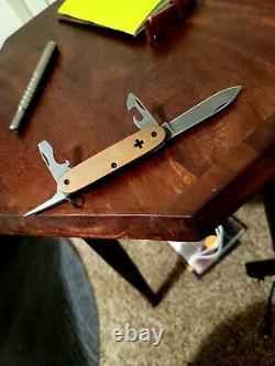 Brasswerx Copper Swiss Army Knife SAK Custom