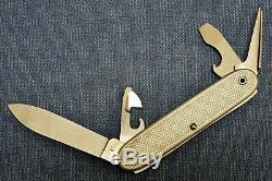 C. 1981 VTG UNUSED NEW WENGER SOLDAT SOLDIER ALOX 81 1961 Swiss Army Knife NOS