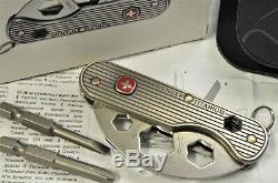 C. 2011 RARE Wenger Titanium Series 2 Swiss Army Knife New in Box NOS 16998