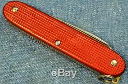 C1970s VTG BUT NEW IN BOX Victorinox PIONEER Red Alox Old Cross Swiss Army Knife