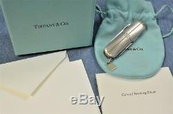 C2000 VTG TIFFANY VICTORINOX STREAMERICA 0.925 Sterling Silver Swiss Army Knife