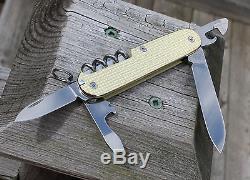 Custom Textured Brass Spartan Swiss Army Knife Mod