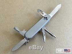 Custom Titanium Swiss Army Knife Tinker 84mm with Titanium Pocket Clip