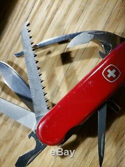 Discontinued Wenger POCKET GRIP Swiss Army Pocket Knife Scouts Camping C11