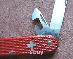 EARLY 3 1/2 INCH VICTORINOX ELINOX PIONEER 1960 Old Cross Swiss Army Knife