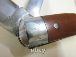 ELSENER SCHWYZ E 1908 Old Cross Swiss Army Knife Sackmesser Couteau militaire