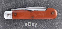 Elsener Schwyz Swiss Army Knife Rare Soldier Fiber 1939 Victorinox
