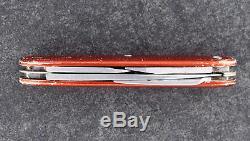 Elsener Schwyz Victoria Swiss Army Knife Rare Soldier Alox Red 1966 Victorinox