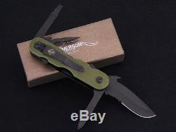Emerson Knives EDC 2 Multitool OD Green Knife Pocket Wave Swiss Army Serrated
