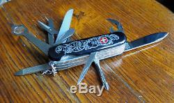 Great Wenger Lancelot Dynasty Swiss Army Knife Sak Mint Unused