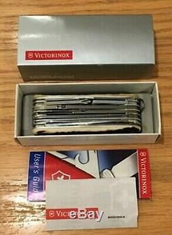 Holy Grail RARE Victorinox STAG Swisschamp Swiss Army Knife 91mm NEW w box
