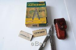 Leatherman Super tool 200 + Wave + Micra + Swiss Army knife old stock