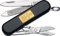 Lot 3 Victorinox VN53013 Knives Folder Knife Classic Gold Ingot 2 1/4 Close Bla