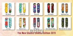 Lot Of 10 Victorinox 2019 Classic Sd Limited Edition Swiss Army Knives Kit New