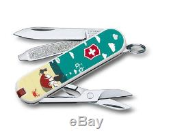 Lot of 10 New Victorinox Swiss Army Knives CLASSIC SD 2016 Limited Edition Set