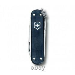 NEW 2015 Alox Steel Blue Victorinox Classic Swiss Army Knife Rare