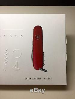NEW NIB Victorinox Swiss Army Knife Spartan Build Your Own Kit Set RARE VHTF