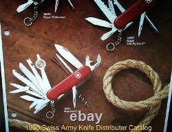 NEW RARE Wenger Delemont Matterhorn 16927 Swiss Army Knife Retired 1990 vintage