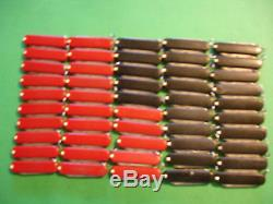 NTSA LOT of 50 SWISS ARMY VICTORINOX 58mm PKT KNIVES 25 RED 25 BLACK FREE SHIP