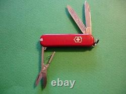 NTSA LOT of 50 SWISS ARMY VICTORINOX ASST COLOR CLASSIC 58mm KNIVES FREE SHIP