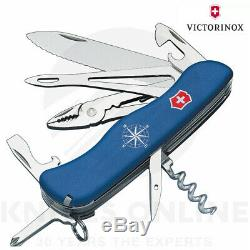 New Swiss Army Knife Skipper Lock Victorinox 35580 Multi-tool Pocket Knife