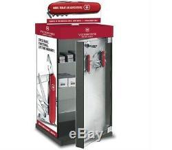 New Swiss Army Victorinox 9.5314.2 Rotating Knife Display Cabinet 24x12x12