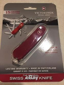 New Victorinox LOT Swiss Army 85mm Knife EVOLUTION 18 Red 2.4913. E US multitool
