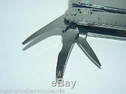 New Victorinox Swiss Army Knife SWISSTOOL + Leather + German Sharpener 905.7423