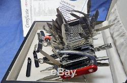 8168d435cd01 New in Box Wenger 16999 Giant Swiss Army Knife 141 Functions Rare ...