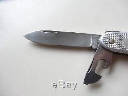 Nice 1970 Elsener model soldier alox Swiss Army Knife Victoria Victorinox 70