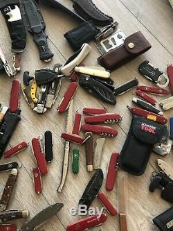 Ntsa 23 Lbs Name Brand Knives Collection Gerber Leatherman SwissArmy Benchmade
