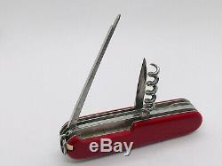 OLD Victoria long Nail file Huntsman 4 layer Victorinox Swiss Army Knife