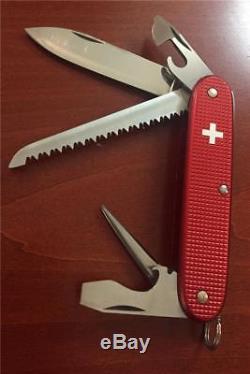 Old Cross Swiss Army Knife Victorinox Alox Farmer