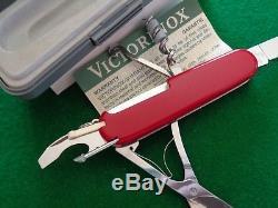 Old NOS Vintage Victorinox 1.34.06 TIMEKEEPER 91mm Swiss Army Knife MIB WORKS
